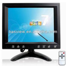 "display screen/ Customized requirements 8"" AV Monitor"