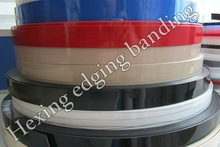 solid color edge banding stripe with high solvent resistant