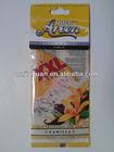 hanging paper air freshener for car/ room