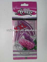 custom car paper air freshener for promotional