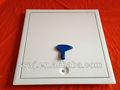 Cuadrados de plástico llave de acero del techo panel de acceso/escotilla de acceso/puerta de acceso/puerta de inspección 300x300mm