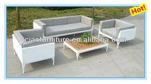 outdoor sofa set 835 white wicker