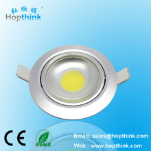 hot sale led recessed downlight 5w adjustable