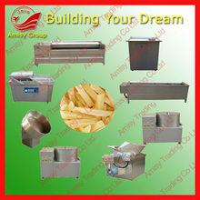AMS-FP80 pringles fry potato chips machine line 80-100kg/h