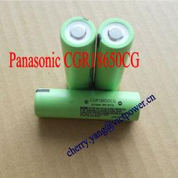 panasonic 18650 CGR18650CG 2200mAh 3.7V batteries cells rechargeable japan product panasonic li-ion rechargeable batteries