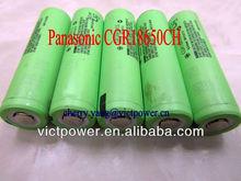 panasonic 18650 CGR18650CG 2200mAh 3.7V batteries cells rechargeable japan product panasonic 18650 battery