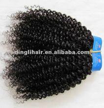 2013 hot 100% Human hair malaysian kinky baby curl hair
