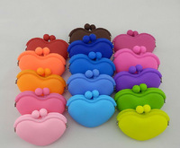 funny cute silicone wallet for coin&money&key