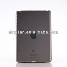 High Quality Transparent Color Rubberized Hard PC case for ipad mini