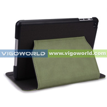 PU Leather Folio Kick Stand Magnetic Case Cover For iPad Mini,Dual