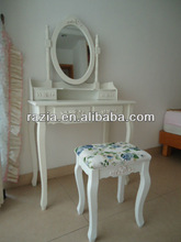 Bedroom Wooden Dresser Table with mirror