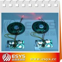 greeting card sound chip for greeting card,postcard,envelope,advertisment,postcard