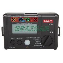 Brand New UNI-T RCD DCV & ACV Digital Multi-Functional Electrical Tester Resistance Meters UT526