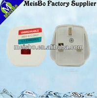 High speed English ear plug with three pin 250v