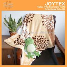 100% Polyester Baby Blanket Flannel Fabric/Roll Printed Flannel Fleece Blanket/Ultra-fine Plush Sheet