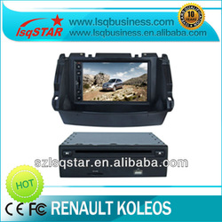 2013 new high quality 7 inch car dvd for renault koleos with GPS