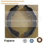 Unlined steel Back plate steel plate bending machine For Car Brake shoe K2280 Toyota