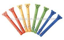 promotional plastic chip bag clip, plastic food bag clips, bag sealer clip