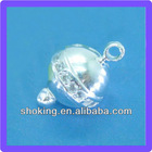 13mm Magnetic Jewelry Clasps Sterling Silver Clasps Ball Clasps