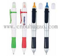 highlighter pen & ballpen