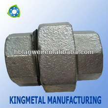 flat seat union malleable iron pipe fittings