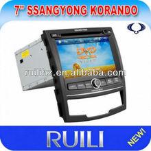 Ssangyong Korando Car DVD Radio GPS Navigation