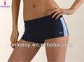 Quatro- trecho maneira tactel/lycra yoga shorts