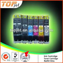 edible ink cartridge for Canon PGI-220, CLI-221, PGI821,CLI821