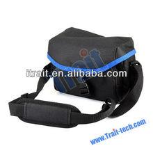 Portable Universal Leather Camera Bag with adjustable belt