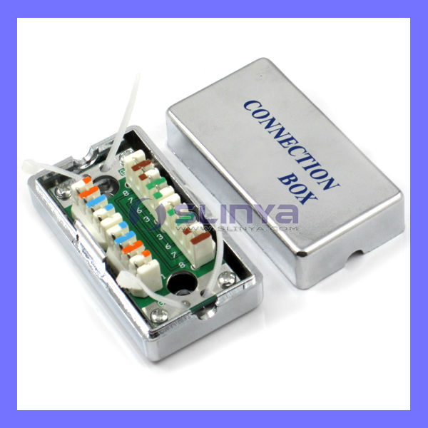 Cat.5 Electrical/electronic connection box Telephone connection box