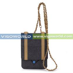 Vigoworld Designer Micro fiber Slim Line Messenger Bag For Apple iPad Mini 7.9-Inch Tablet