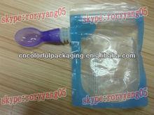kids reusable spout pouch 200ml/kids food packaging spout pouch