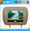 "High Quality 7""Tft-lcd Car Headrest Monitor With Pillow"