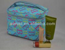 Cosmetic case, designer makeup bag ,tote toiletry bag