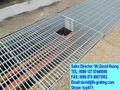 Rejilla de acero galvanizado de drenaje, de acero galvanizado rejilla de desagüe, rejilla de acero galvanizado de drenaje