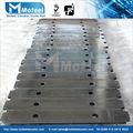 La placa de acero para el contrapeso elevator|elevator contrapeso