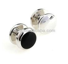Brightly Black Enamel Jewelry Studs