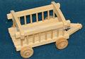 nuevo diseño del medio ambiente sin terminar de madera modelo de camión para juguete de los niños al por mayor
