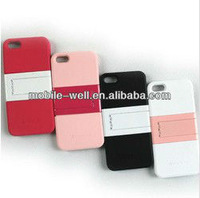mix color mobile phone case with stand for iphone 5