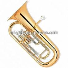 Key:Bb Gold lacquer 3-Key Piston Valve Euphonium