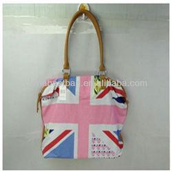 2013 new arrival canvas shoulder bag for ladies and wemen