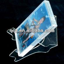 QCY-CT-15 wholesale acrylic photo frame photo holder