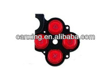 For PSP 3000 Button Rubber Red