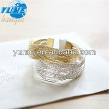 White And Golden Couple Bracelet Jewelry/ Fashion Hand Accessories Item/ Women Bracelet Ornament