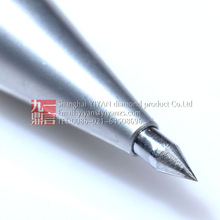 Signature marker pen with natural tungsten carbide tip engraving pen