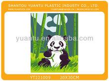 Panda DIY painted by numbers oil painting