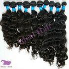 Double strong weft 100%virgin brazilian hair extension no shedding