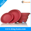 Silicone multifunction bowl