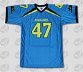 custom sublimada poliéster faculdade uniformes de futebol americano