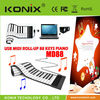 88 KEYS ROLL UP MIDI ELECTRONIC KEYBOARD PIANO MUSIC